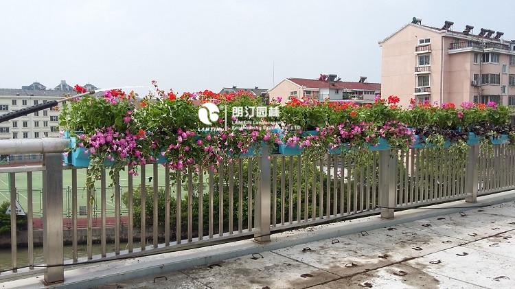 昆山护栏绿化花盆