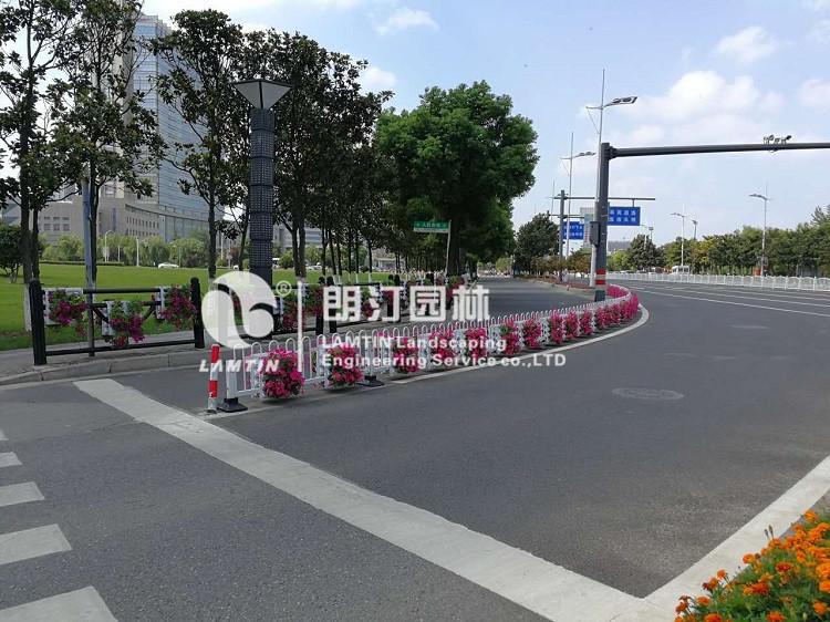 护栏绿化模块化花盆